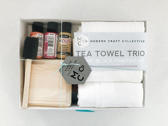 Kit DIY impression sur tissu
