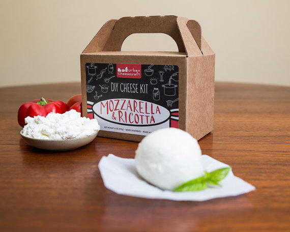 kit DIY mozzarella et ricotta