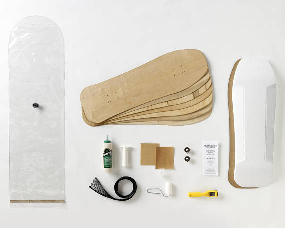 Kit DIY pour fabriquer une planche de skate board