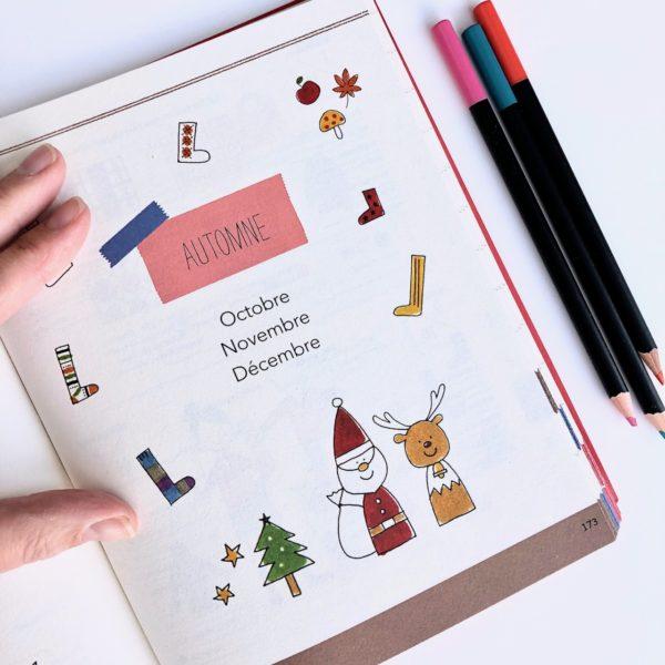 J'ai testé le livre Tout dessiner au jour le jour Tome 2 par Magali THIEBAUD du blog Le Meilleur Du DIY mois d'octobre