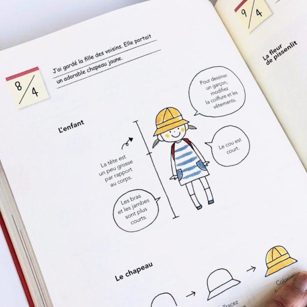 J'ai testé le livre Tout dessiner au jour le jour Tome 2 par Magali THIEBAUD du blog Le Meilleur Du DIY La pluie