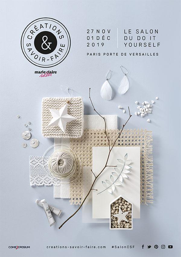 Salon Créations & Savoir-faire 2019 le plus grand salon du DIY