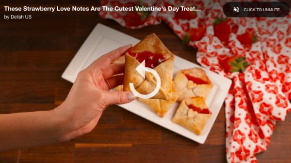 DIY vidéo vers la lettre d'amour pour la saint valentin