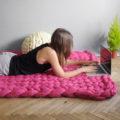 DIY Maxi laine Maxi couverture Maxi tapis en laine géante