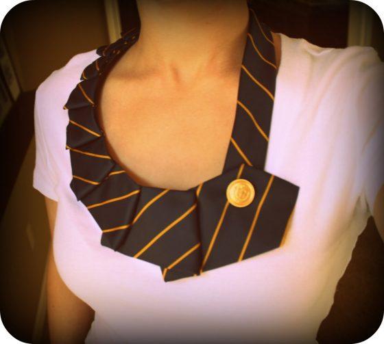 DIY Collier cravate