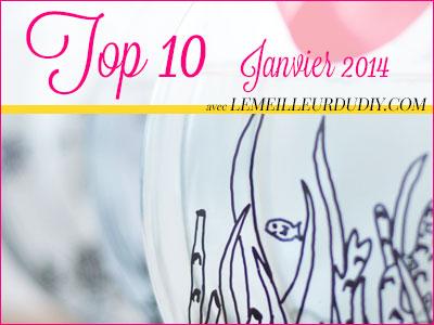 Top 10 DIY janvier 2014