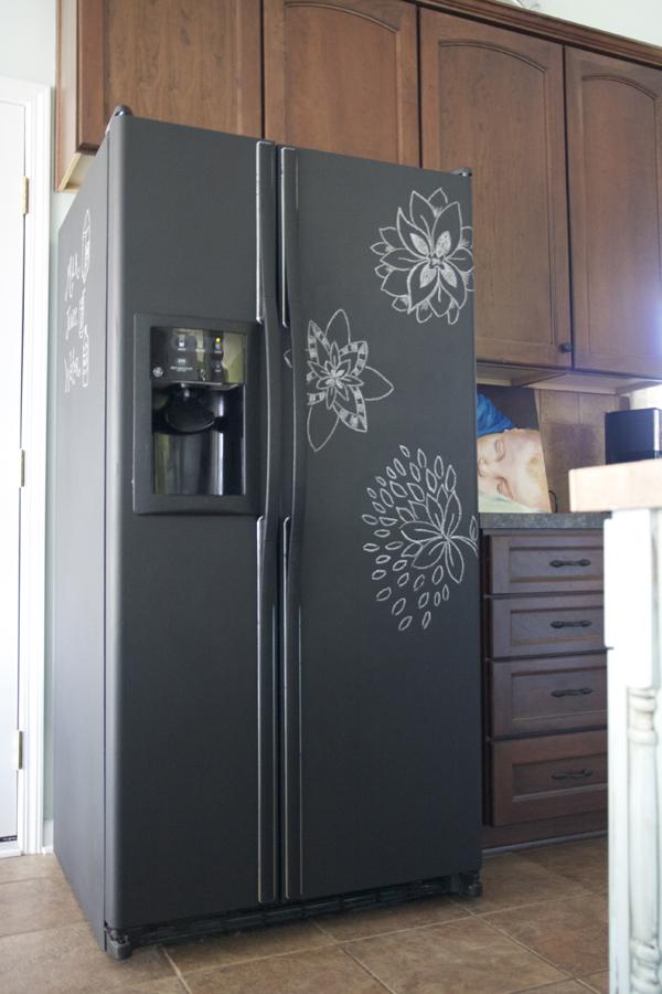 frigo peint magnetic