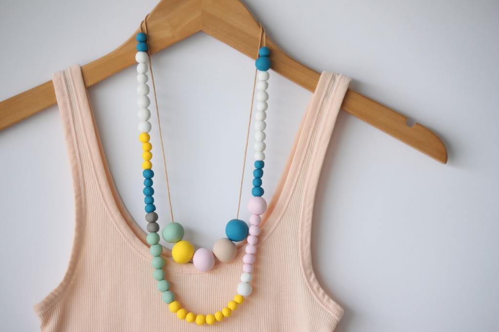 DIY collier simple et magnifique