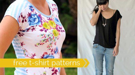 DIY Patrons t-shirts gratuits