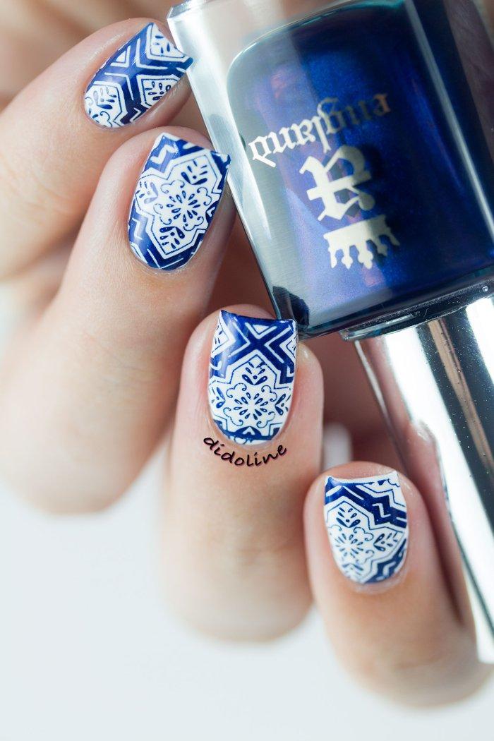 DIY Nail art et stamping