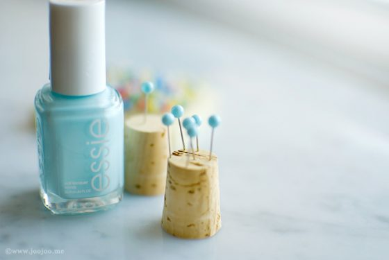 DIY Comment colorer ses épingles