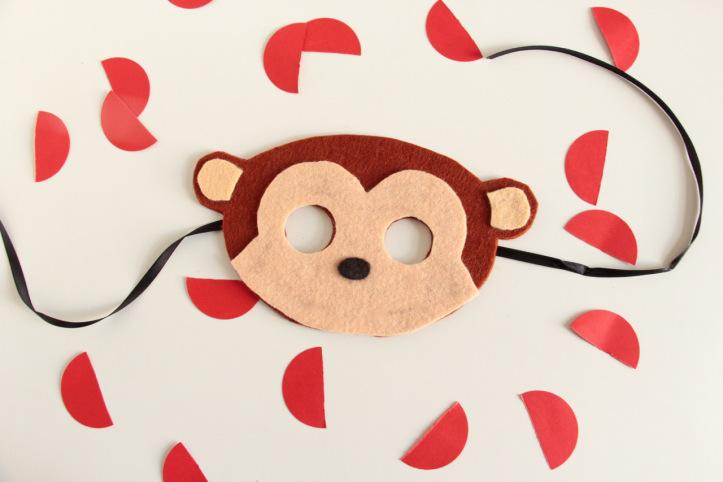 DIY Masque de singe