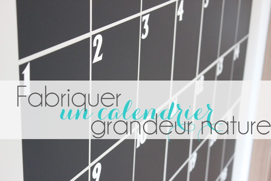 Calendrier Geant.Diy Calendrier Geant Des Familles Le Meilleur Du Diy