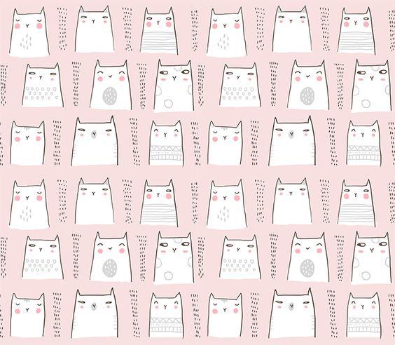 motif petit chat
