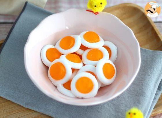 Apprends à fabriquer tes bonbons oeufs sur le plat