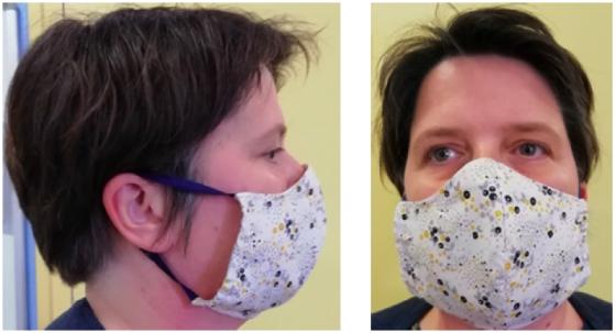 Masque pour personnel hospitalier